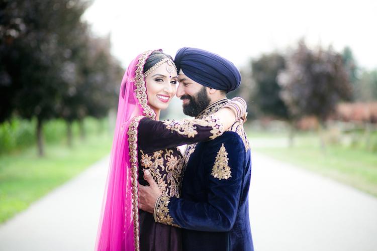 17a indian wedding portrait