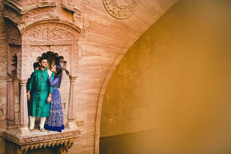 beautiful jodhpur engagement