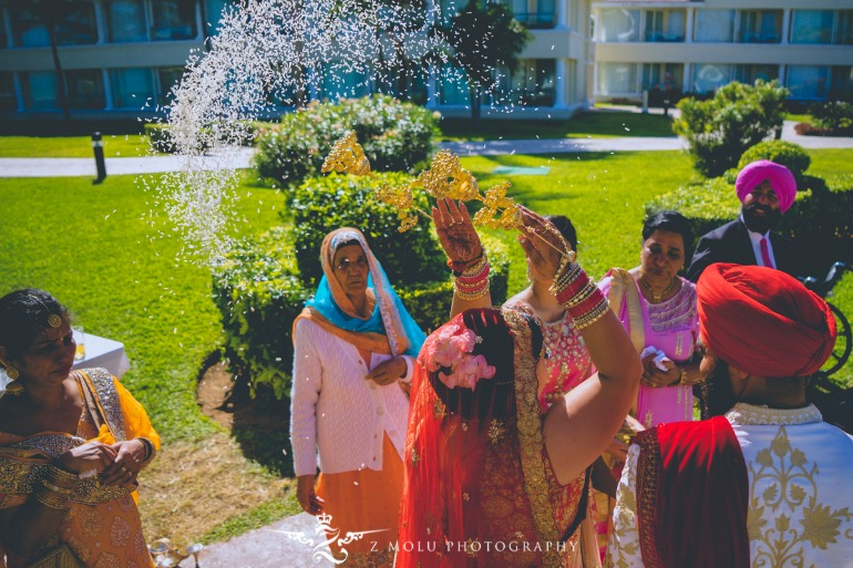 beautiful sikh wedding
