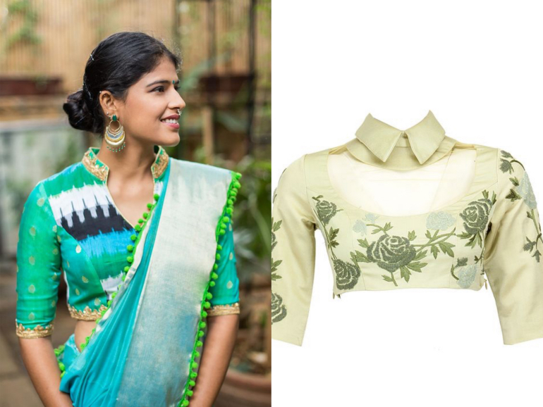 Stand Color Blouse Designs : Blouse styles to quirk up your wedding glam statement