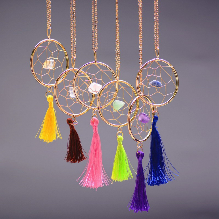 dreamcatcher tassle - blingsparkle