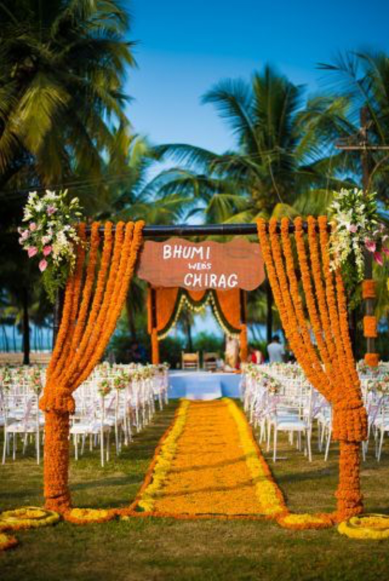 genda phool entrance - witty vows