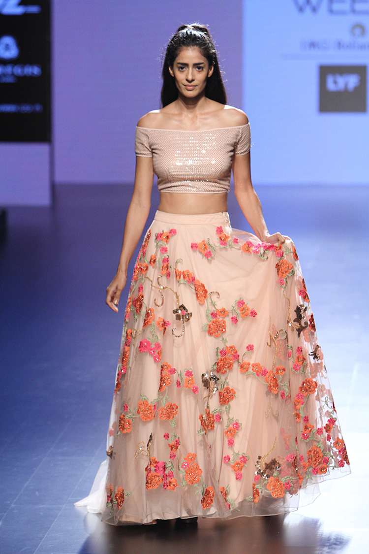Neeta lulla collection at lakme fashion week winter/festive