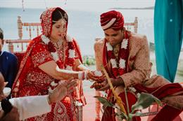 Jaw-Droppingly Gorgeous Indian Fiji Wedding by Kama Catch Me Destination Wedding Photography