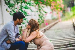 This Cute Indian Engagement Session By Weddings by Knotty Days Will Make Your Day