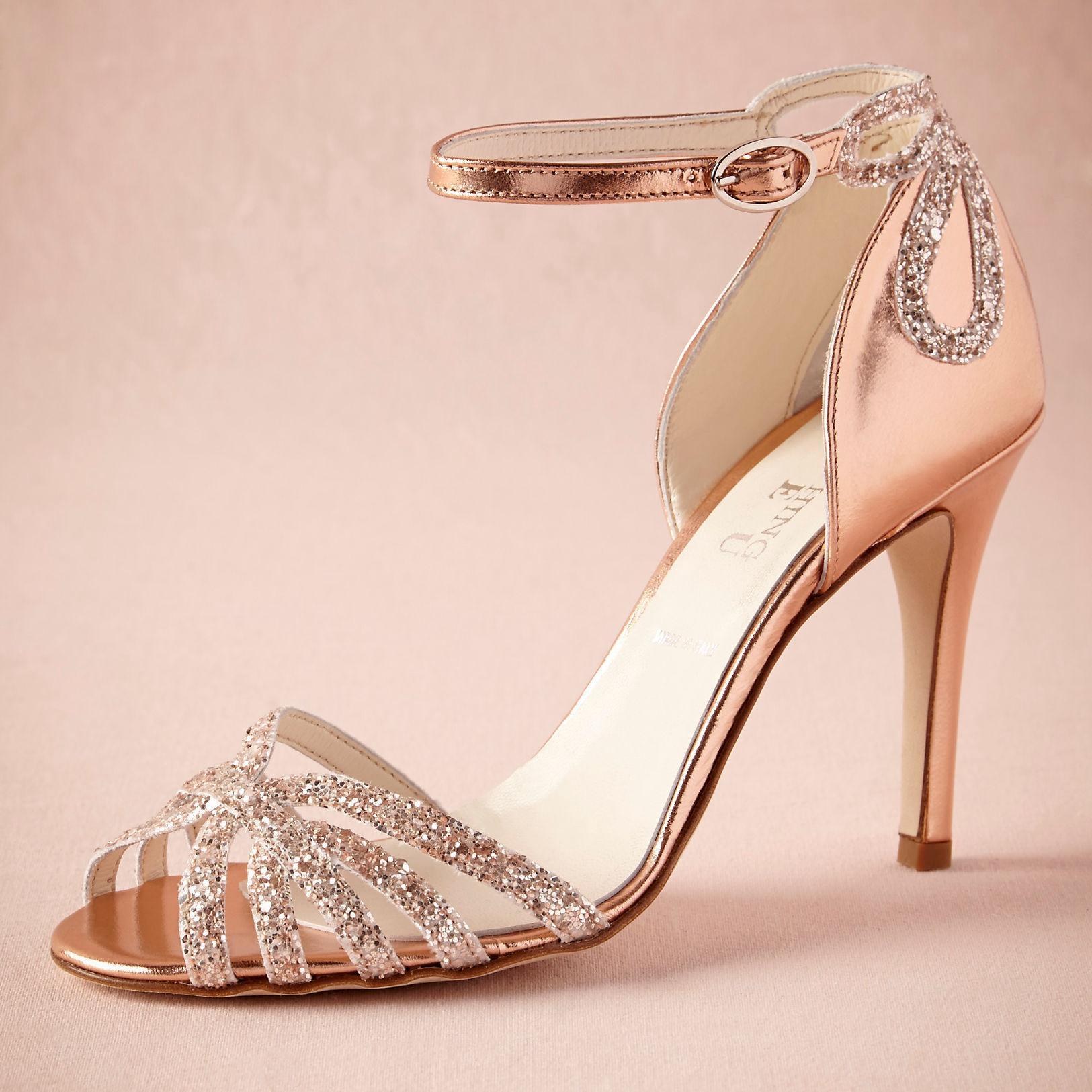 Rhinestone Wedding Shoes Low Heel 008 - Rhinestone Wedding Shoes Low Heel