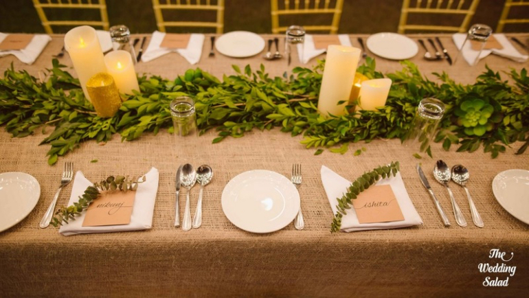 Seating arrangment - The Wedding Salad