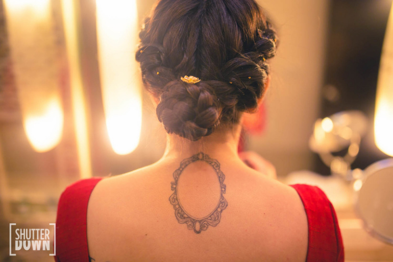 Twisted and Braided low bun - shutterdown by Lakshya