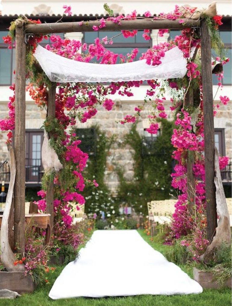 Wild flowers entry - Marrymeweddings.in