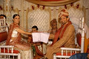 Gujarati Indian Wedding Ceremony