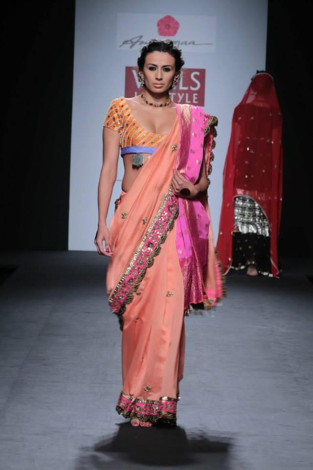 Anupama Dayal At Wills Lifestyle India Fashion Week 2014