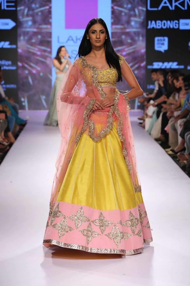 Anushree Reddy Debuts Her Collection At Lakme Fashion Week