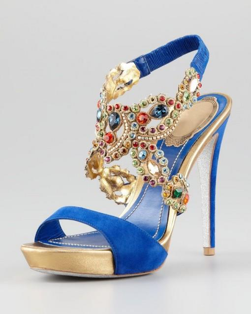 Bridal Shoes India: Best Indian Wedding Shoes Of 2012