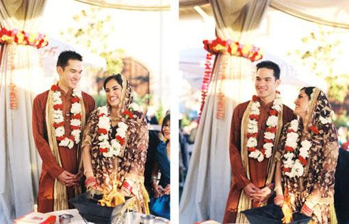 California Multicultural Indian Wedding: Jeena and Brian (1)