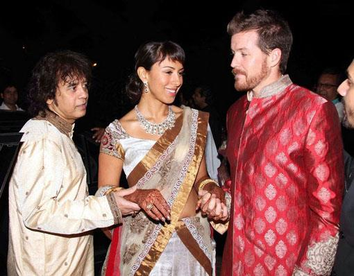 Celebrity Wedding - Anisa Qureshi and Taylor Phillips