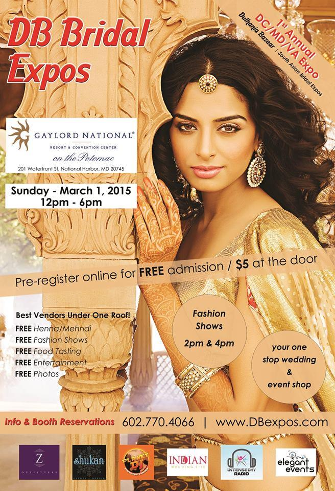 Dulhania Bazaar Indian Bridal Show on Sunday March 1st