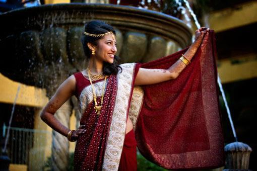 Arizona Indian Wedding by LightRain Images