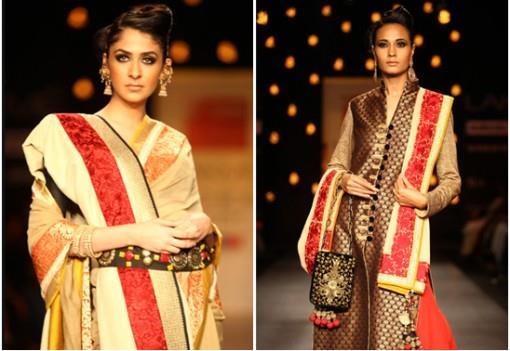 Indian Wedding Fashion by Vikram Phadnis, Soumitra Mondal, Vaishali Shadangule LFW S/S 13