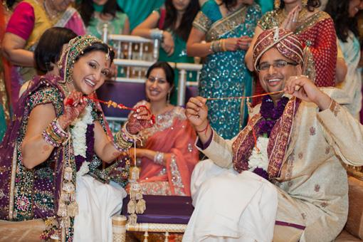 Indian Wedding Games and Doli Ceremonies