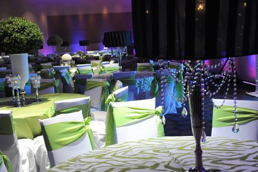 Indian wedding ideas blog indian wedding themes indian wedding lime green and white edgy indian wedding reception junglespirit Images