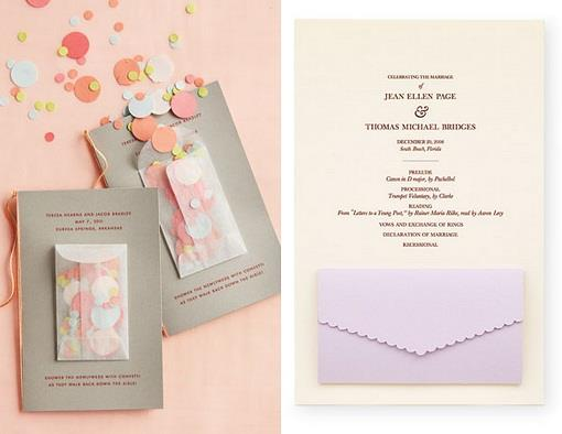 Pocket Indian Wedding Program Ideas