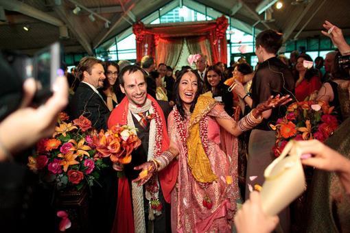 NY Jewish Hindu Wedding Ceremony - Purva & David III