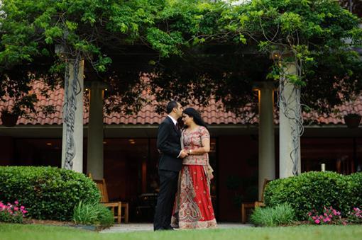 Omni Mandalay Texas Indian Wedding Reception - 3