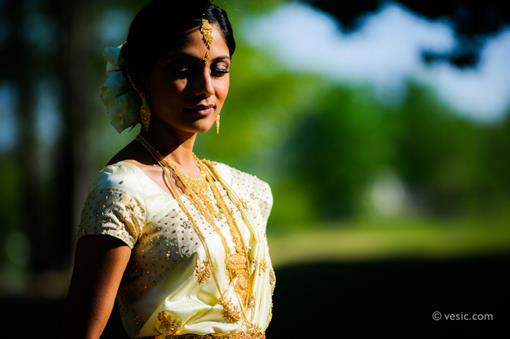 Outdoor North Carolina Hindu Wedding by Vesic Photography - 2