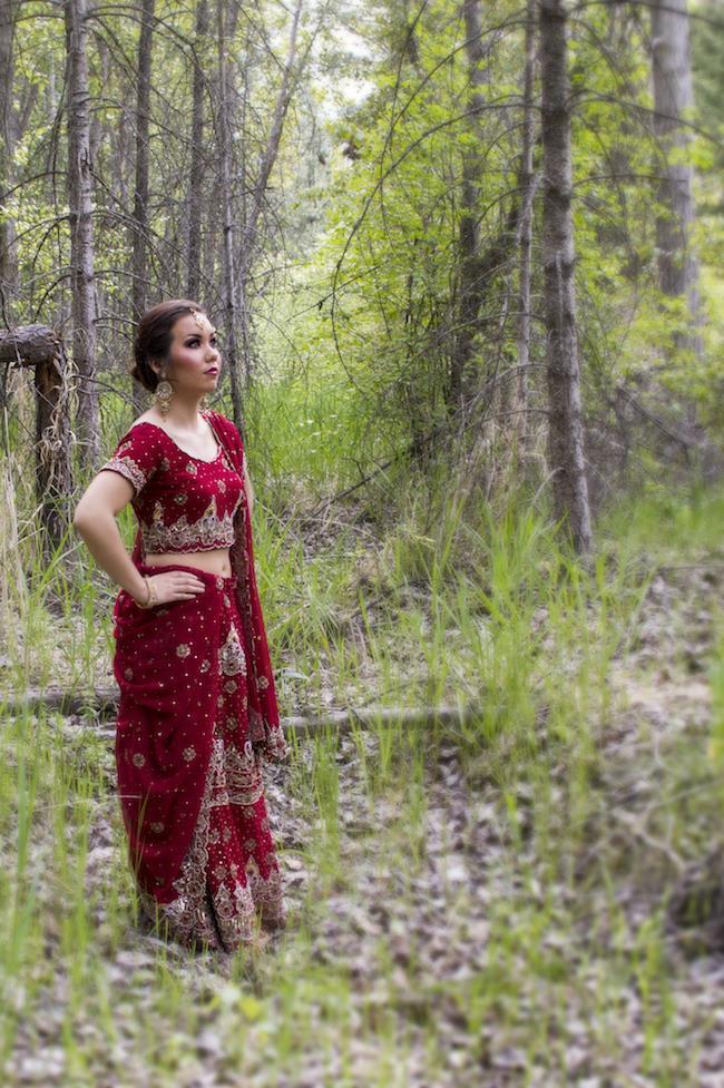 Styled Indian Bridal Shoot By Alisha Khan Photography