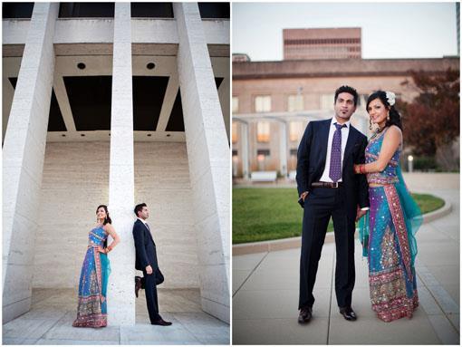 Sunset Indian Wedding Portraits - Sraddha & Harmit III