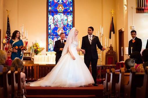Texas Christian Fusion Indian Wedding - 2