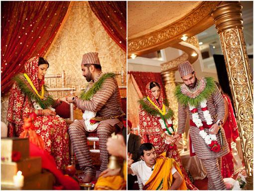 Tn hindu nepali wedding sraddha harmit ii for Wedding dress nepali culture