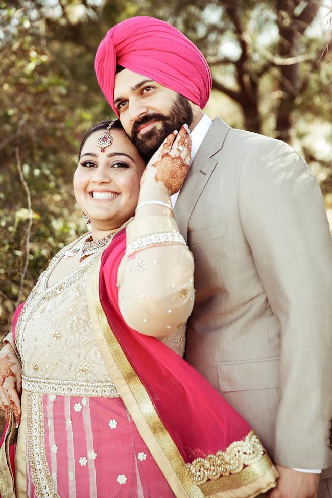 Sikh-Engagment-Portrait