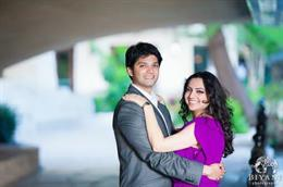 San Antonio Riverwalk Engagement Session by Biyani Photography