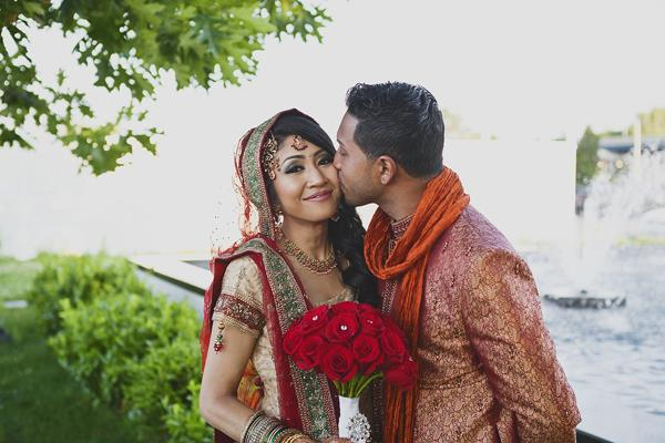 22a indian wedding kiss