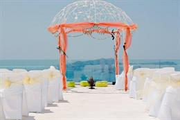 Big Fat Greek Indian Wedding in Santorini Greece