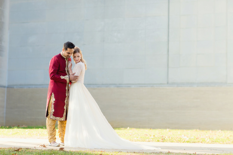 9a indian wedding fairytale