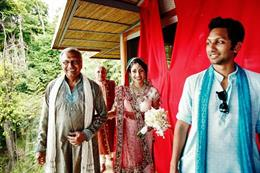 Costa Rica Destination Indian Wedding by Nadia D. Photography