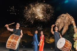 Destination Indian Wedding in Greece by Vangelis Photography