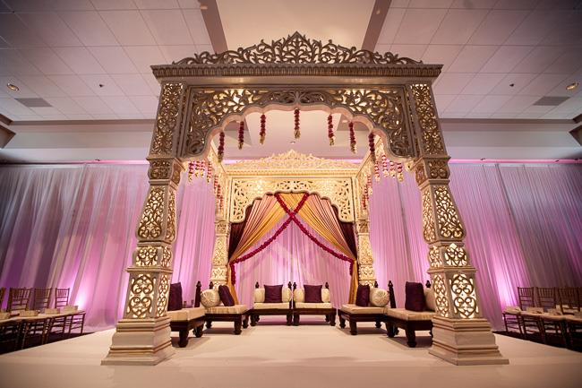 28a indian wedding ceremony staging