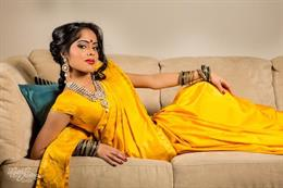 Bridal Sari Indian Fashion Shoot by Digital Fusion Production