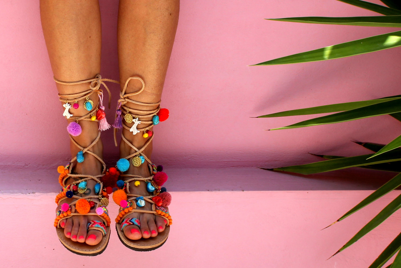 Beach footwear