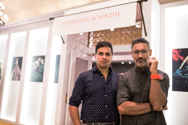 Designer Shantanu and Nikhil at Vogue Wedding Show 2016 at Taj Palace New Delhi