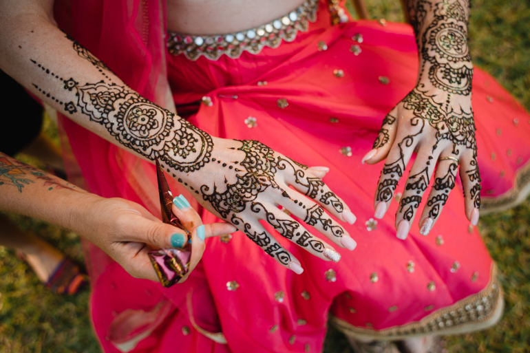 indian mehendi picture