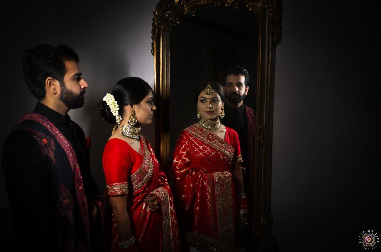 South asian couple photography