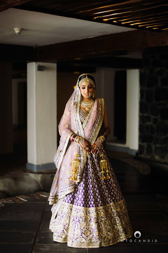 Ultra-violet-lehenga-with-blush-pink-into candid