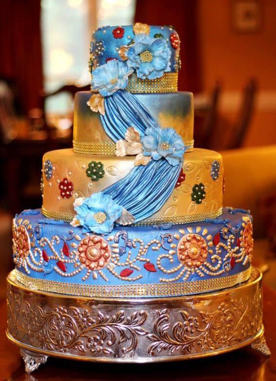 Indian Wedding Cake Basics