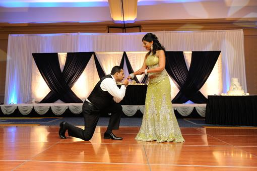 Boston Indian Wedding Reception by Pink Lotus Events - 2