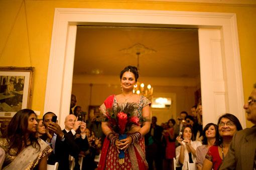 Fusion Indian Wedding Ceremony with Southern Charm