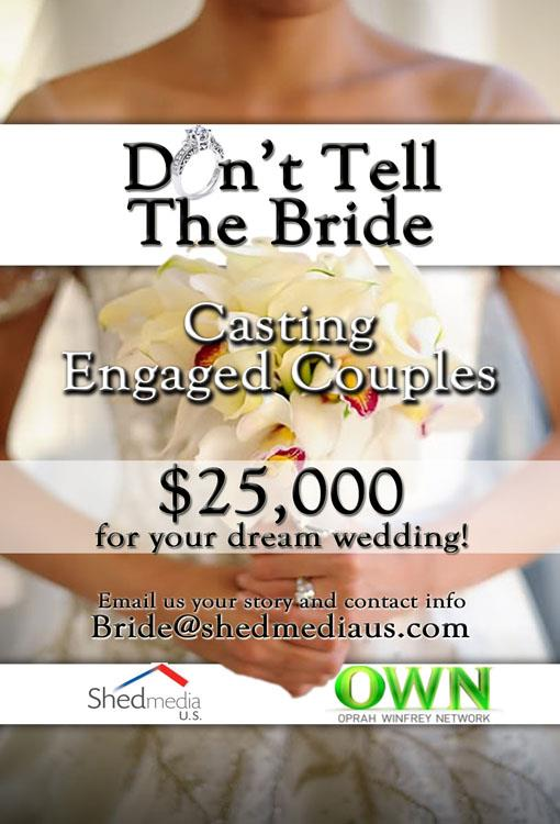 Indian Wedding Casting call for OWN: Don